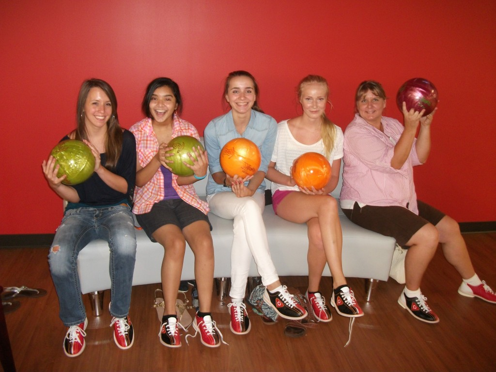 Youth Exchange Bowling group